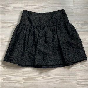 BNWT Kate Spade Rose Organza Skirt Size 2